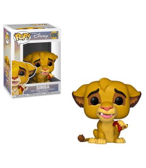 RW POP DISNEY LION KING SIMBA #496