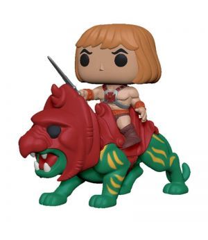 Funko Pop Masters Of The Universe - He-Man Con Battle Cat Funko Pop! Ride 84