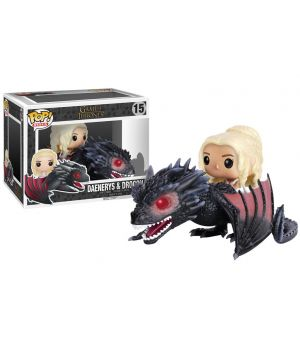 Pop Funko - GAME OF THRONES - Drogon with Deanerys