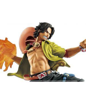 One Piece Memorial Log Portgas D. Ace 20th Anniversary Figure