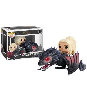 Funko pop Daenerys Targaryen & Drogon Vinyl Figure 15