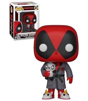 Pop Funko - Deadpool Playtime #327 Bedtime Deadpool - New, Mint Condition