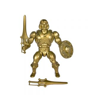 MASTERS OF THE UNIVERSE VINTAGE COLLECTION ACTION FIGURE GOLD HE-MAN