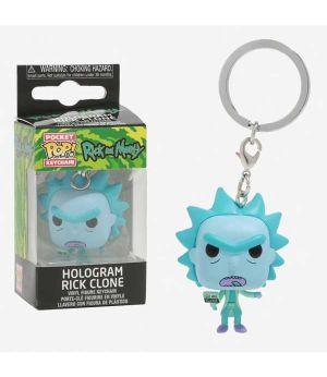 Funko Pocket POP! portachiavi RICK & MORTY Hologram