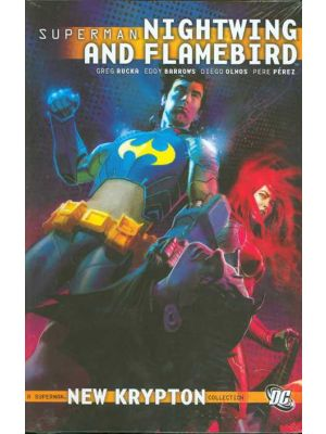 Superman Nightwing and flambird