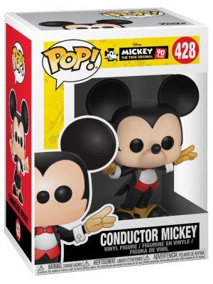 Funko Pop Mickey's 90th Anniversary - Conductor Mickey Vinyl Figure 428