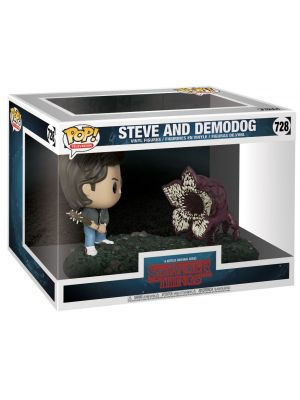 Pop Funko Steve and Demodog (Movie Moments) Vinyl Figure 728