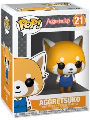 AGGRETSUKO - POP FUNKO VINYL FIGURE 21 AGGRETSUKO 9CM