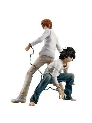 MEGAHOUSE - Death Note Light Yagami ed L statua