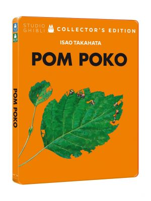 Pom Poko (Ltd Steelbook) (Blu-Ray+Dvd)