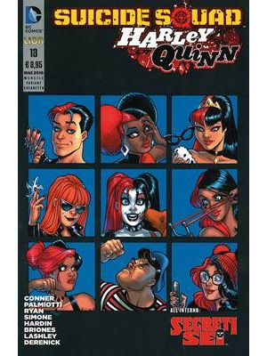 SUICIDE SQUADHARLEY QUINN 13 VARIANT COFANETTO II STAGIONE