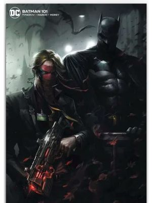 Batman #101 Card Stock F Mattina Variant Edition Joker War