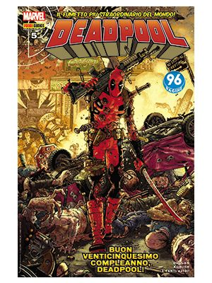 DEADPOOL 64   DEADPOOL 5 SPECIALE 25 ANNI DEADPOOL