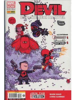 DEVIL E I CAVALIERI MARVEL 17 COVER B SKOTTIE YOUNG   MARVEL NOW!