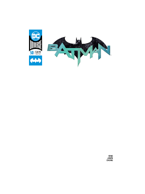 BATMAN # 50 BLANK COVER VARIANT  EDITION DC COMICS