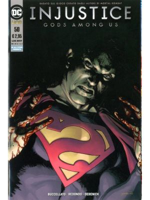 INJUSTICE GODS AMONG US 50 - LION - DC ALL STAR PRESENTA