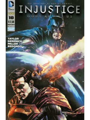 INJUSTICE GODS AMONG US  10- DC ALL STAR PRESENTA