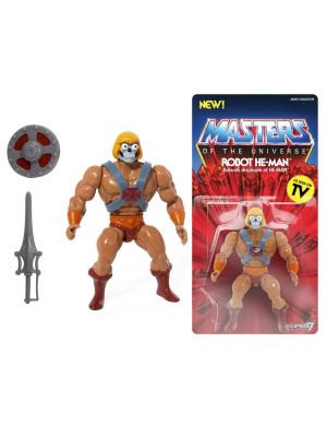 MASTERS OF THE UNIVERSE VINTAGE COLLECTION ROBOT HE-MAN
