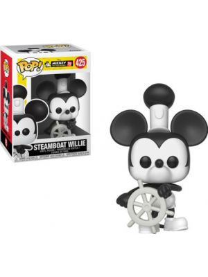 FUNKO  POP DISNEY MICKEY`S 90TH STEAMBOAT WILLIE #425