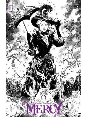 MIRKA ANDOLFO MERCY #5 cove d by daniel  - image comics