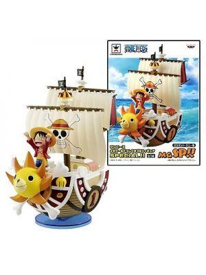 One Piece  Thousand Sunny Mega World Luffy
