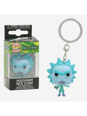 Funko Pocket POP! portachiavi RICK & MORTY Hologram