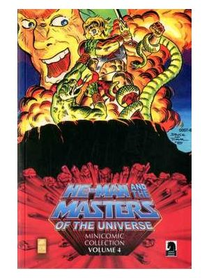 HE-MAN AND THE MASTERS OF THE UNIVERSE MINICOMIC 4