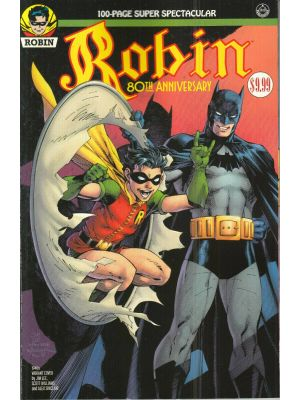 Robin 80th Anniversary 100-page superspectacular 1940 JIM LEE