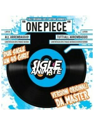 SIGLEANIMATE 45 GIRI - ONE PIECE  -
