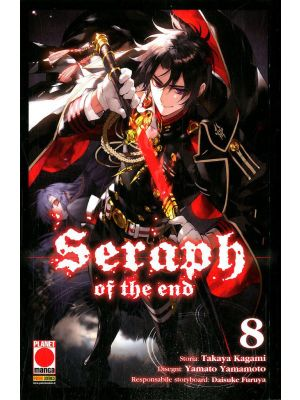 SERAPH OF THE END 8 Ristampa