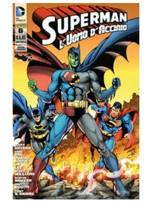 SUPERMAN L`UOMO D`ACCIAIO 6 VARIANT BATMAN 75 ANNI