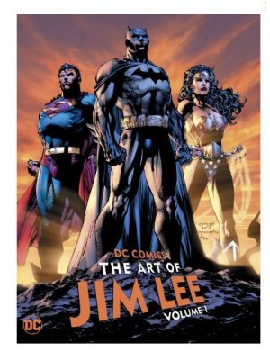 THE ART OF JIM LEE DC COMICS ORIGINAL