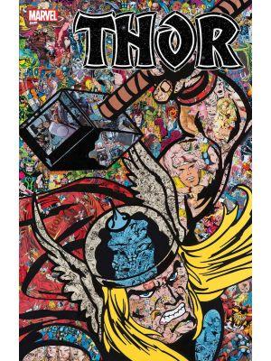 THOR #1 MR GARCIN COLLAGE VAR - marvel comics