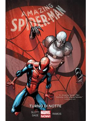 AMAZING SPIDER-MAN VOLUME 4 TURNO DI NOTTE