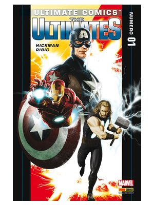 ULTIMATE COMICS AVENGERS 13   ULTIMATES 1
