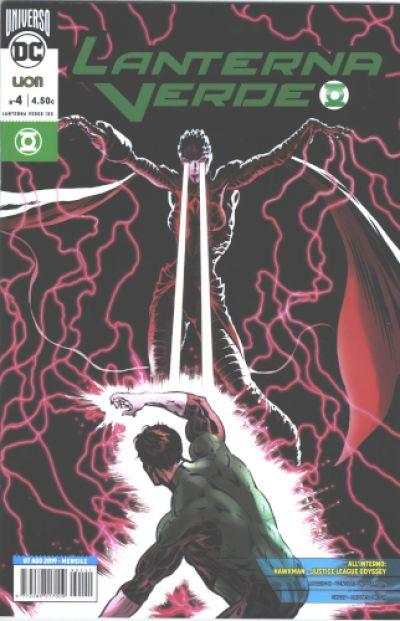 Lanterna Verde nuova serie  4 Rinascita