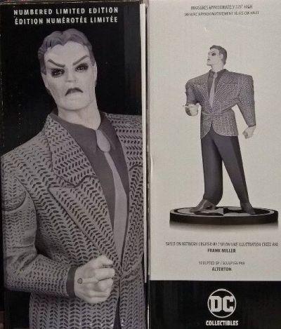 BATMAN - Black & White Joker Resin Statue by Frank Miller