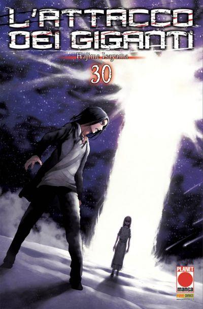 L' ATTACCO DEI GIGANTI RISTAMPA 30 Shingeki no kyojin INCLUDE
