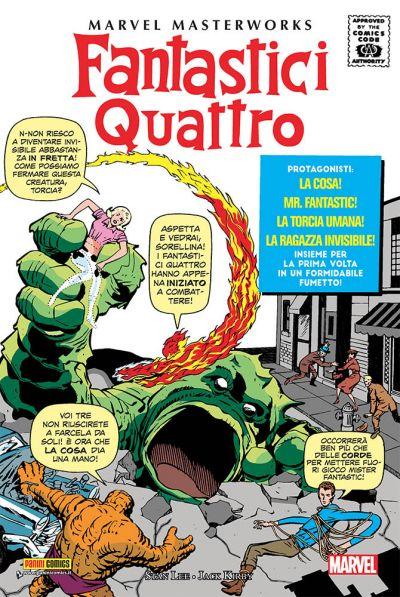 MARVEL MASTERWORKS I FANTASTICI QUATTRO 4 RISTAMPA
