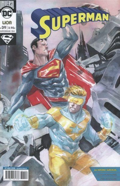 SUPERMAN # 39- DC REBIRTH